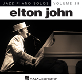 Elton John Someone Saved My Life Tonight [Jazz version] (arr. Brent Edstrom) Sheet Music and PDF music score - SKU 151640