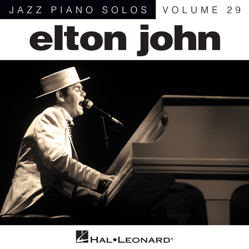 Elton John, Sorry Seems To Be The Hardest Word [Jazz version] (arr. Brent Edstrom), Piano