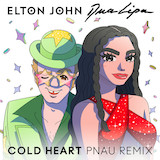 Elton John & Dua Lipa Cold Heart (PNAU Remix) Sheet Music and PDF music score - SKU 501480