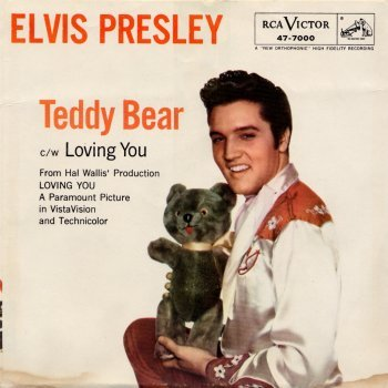 Elvis Presley, (Let Me Be Your) Teddy Bear, Piano, Vocal & Guitar (Right-Hand Melody)