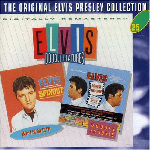 Elvis Presley, Double Trouble, Piano, Vocal & Guitar (Right-Hand Melody)