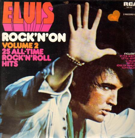 Elvis Presley, Edge Of Reality, Piano, Vocal & Guitar (Right-Hand Melody)