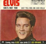 Elvis Presley She's Not You Sheet Music and PDF music score - SKU 15813
