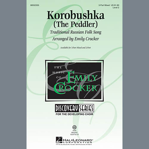 Korobushka sheet music