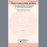Emily Crocker Two English Ayres Sheet Music and PDF music score - SKU 153104