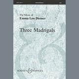 Emma Lou Diemer Three Madrigals Sheet Music and PDF music score - SKU 93772