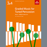 F. J Gossec Gavotte from Graded Music for Tuned Percussion, Book II Sheet Music and PDF music score - SKU 506691