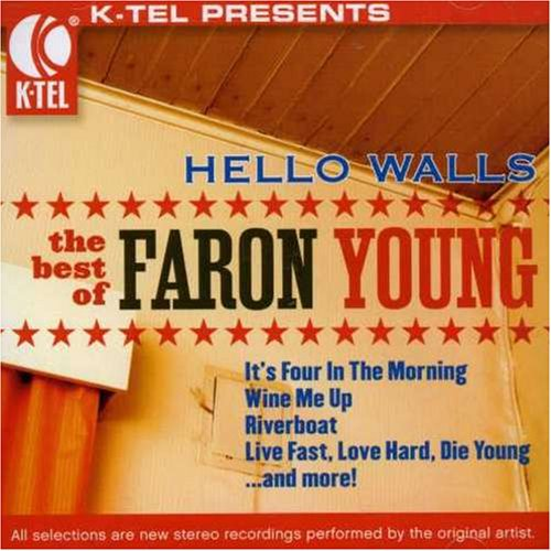 Faron Young, Hello Walls, Piano, Vocal & Guitar (Right-Hand Melody)