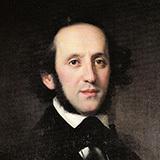 Felix Mendelssohn Andante From Piano Concerto In G Minor, Op. 25 Sheet Music and PDF music score - SKU 28174