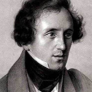 Felix Mendelssohn, O For The Wings Of A Dove, Piano