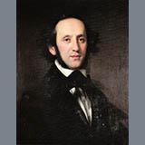 Felix Mendelssohn Bartholdy The Shepherd's Song Sheet Music and PDF music score - SKU 363200