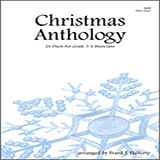Frank J. Halferty Christmas Anthology (24 Duets For Grade 3-4 Musicians) Sheet Music and PDF music score - SKU 124937