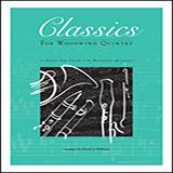 Frank J. Halferty Classics For Woodwind Quintet - Bb Bass Clarinet (opt.) Sheet Music and PDF music score - SKU 381716