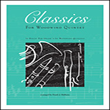 Frank J. Halferty Classics For Woodwind Quintet - Full Score Sheet Music and PDF music score - SKU 381730
