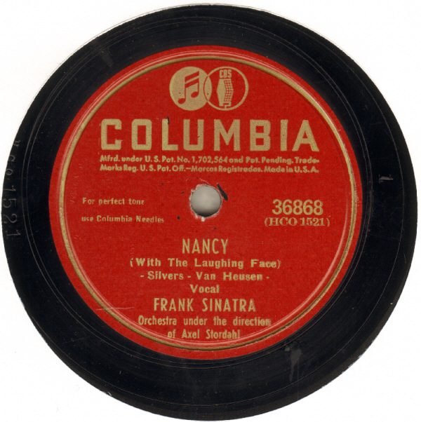 Frank Sinatra, Nancy (With The Laughing Face), Piano, Vocal & Guitar (Right-Hand Melody)