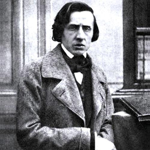 Frederic Chopin, Etude in E Major, Op.10, No.3 (Tristesse), Melody Line & Chords