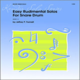 Funnell Easy Rudimental Solos For Snare Drum Sheet Music and PDF music score - SKU 124881