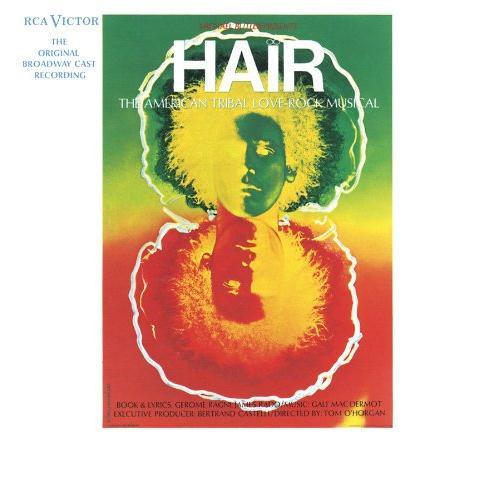 Galt MacDermot, Hair (from 'Hair'), Piano, Vocal & Guitar (Right-Hand Melody)