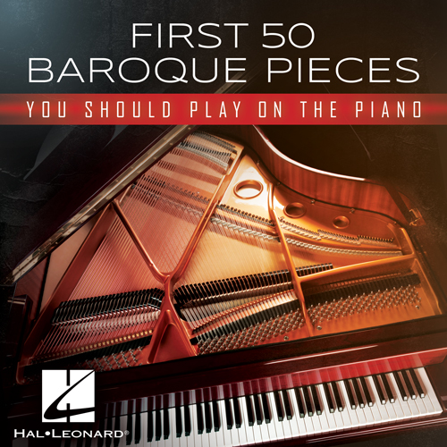 Georg Philipp Telemann, Aria No. 4, Easy Piano
