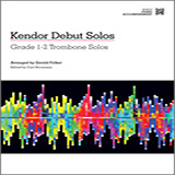 Gerald Felker Kendor Debut Solos - Trombone - Piano Accompaniment Sheet Music and PDF music score - SKU 124991