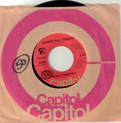 Glen Campbell, Rhinestone Cowboy, Piano, Vocal & Guitar (Right-Hand Melody)