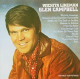 Glen Campbell Wichita Lineman Sheet Music and PDF music score - SKU 163609