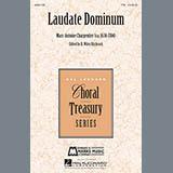 Marc-Antoine Charpentier Laudate Dominum Sheet Music and PDF music score - SKU 160069