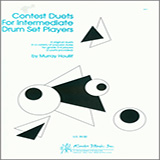 Houllif Contest Duets For Intermediate Drum Set Players Sheet Music and PDF music score - SKU 124850