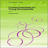 Houllif Contest Ensembles For Young Percussionists - Percussion 3 and 4 Sheet Music and PDF music score - SKU 324108