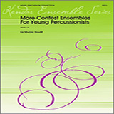 Houllif More Contest Ensembles For Young Percussionists - Percussion 3 and 4 Sheet Music and PDF music score - SKU 324113