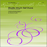 Houllif Studio Drum Set Duos (For A Student And Teacher) Sheet Music and PDF music score - SKU 124762