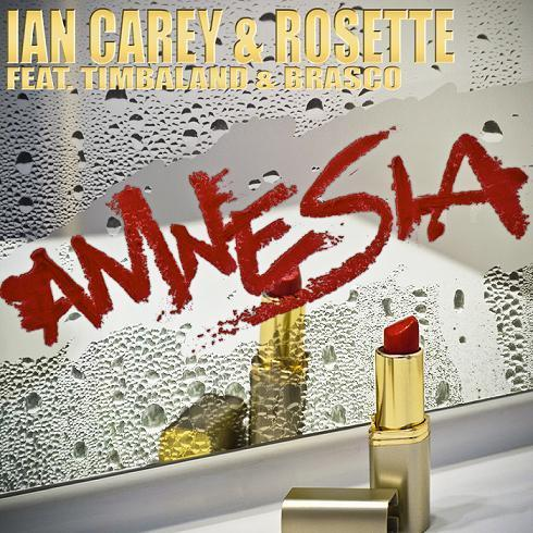 Ian Carey & Rosette, Amnesia (feat. Timbaland and Brasco), Piano, Vocal & Guitar (Right-Hand Melody)