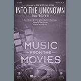 Idina Menzel and AURORA Into The Unknown (from Disney's Frozen 2) (arr. Roger Emerson) Sheet Music and PDF music score - SKU 432750