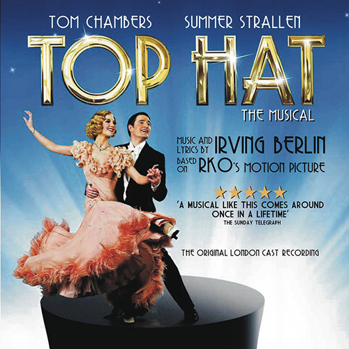 Top Hat Cast, Puttin' On The Ritz, Piano, Vocal & Guitar (Right-Hand Melody)