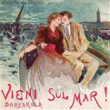 Italian Folksong Vieni Sul Mar Sheet Music and PDF music score - SKU 88517