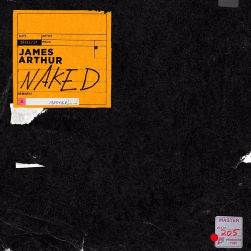 James Arthur, Naked, Piano, Vocal & Guitar (Right-Hand Melody)