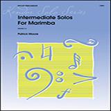 James Moore Intermediate Solos For Marimba Sheet Music and PDF music score - SKU 381887