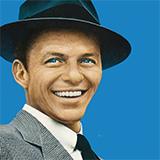 Frank Sinatra All The Way Sheet Music and PDF music score - SKU 173691