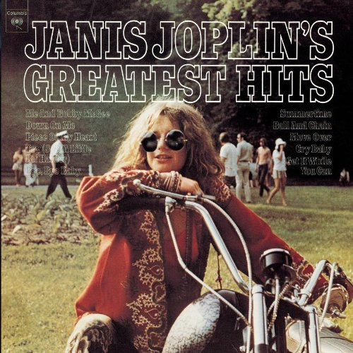 Janis Joplin, Me And Bobby McGee, Piano, Vocal & Guitar (Right-Hand Melody)