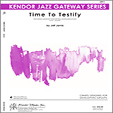 Jarvis Time To Testify - Baritone Sax Sheet Music and PDF music score - SKU 322994