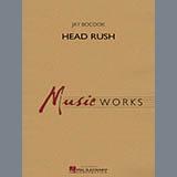 Jay Bocook Head Rush - Eb Alto Saxophone 1 Sheet Music and PDF music score - SKU 341826