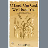 Jeff Reeves and Vicki Hancock Wright O Lord, Our God, We Thank You Sheet Music and PDF music score - SKU 432260