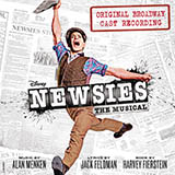 Jeremy Jordan Santa Fe (from Newsies: The Musical) Sheet Music and PDF music score - SKU 417193