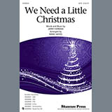 Jerry Herman We Need A Little Christmas (from Mame) (arr. Mark Hayes) Sheet Music and PDF music score - SKU 427646