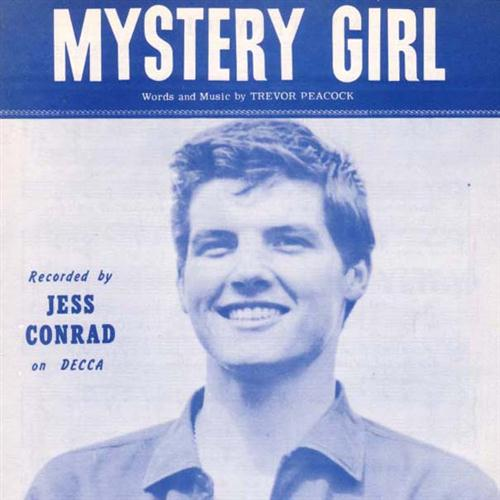 Jess Conrad, Mystery Girl, Piano, Vocal & Guitar (Right-Hand Melody)