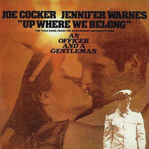 Joe Cocker and Jennifer Warnes, Up Where We Belong (from An Officer And A Gentleman), Clarinet