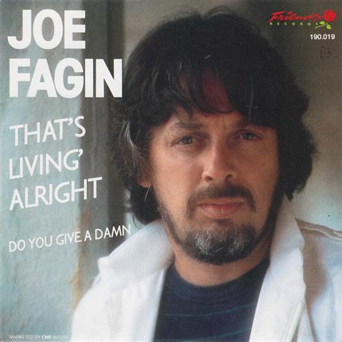 Joe Fagin, That's Livin' Alright, Piano, Vocal & Guitar (Right-Hand Melody)