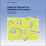 Joel Smales Festival Pieces For Multiple Percussion Sheet Music and PDF music score - SKU 376383