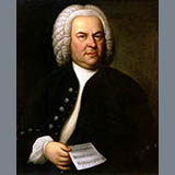 Johann Sebastian Bach Loure Sheet Music and PDF music score - SKU 466315