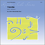 John Alexander Durr Verde Sheet Music and PDF music score - SKU 125047